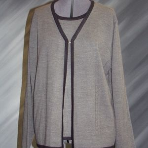 Women's Sweater and tank all in one